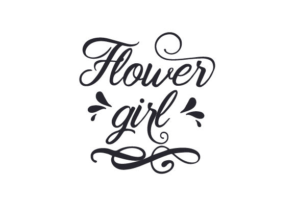 Download Free Flower Girl Svg Cut File By Creative Fabrica Crafts Creative Fabrica for Cricut Explore, Silhouette and other cutting machines.