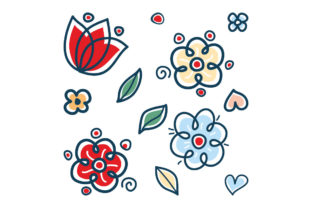 Print on Demand: Flower Illustration Graphic Illustrations By zoyali