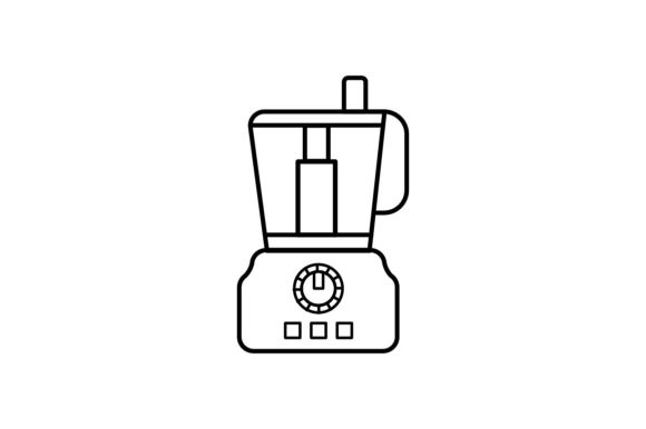 Print on Demand: Food Processor Graphic Icons By khld939