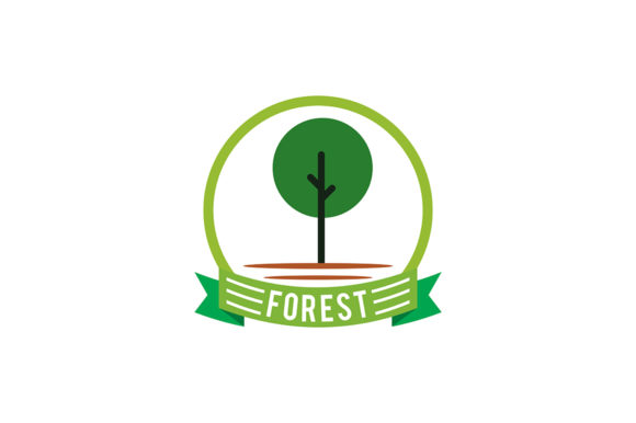 Forest Logo Graphic Logos By Friendesigns