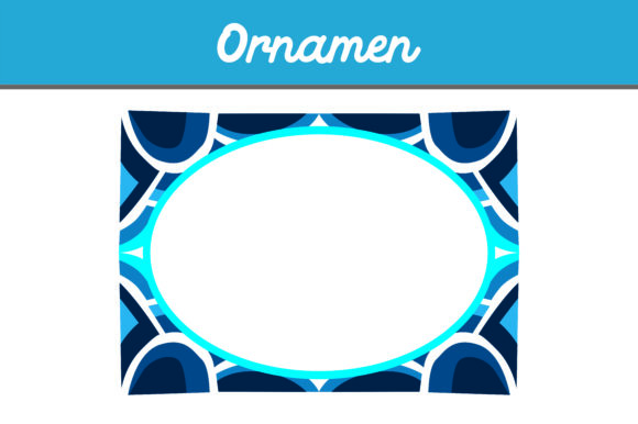 Print on Demand: Frame Ornament Vector Graphic Illustrations By Arief Sapta Adjie