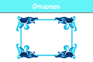Frame Ornament Graphic By Arief Sapta Adjie