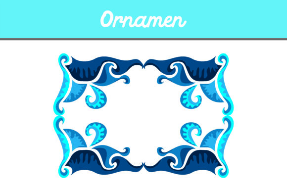 Print on Demand: Frame Ornament Graphic Backgrounds By Arief Sapta Adjie