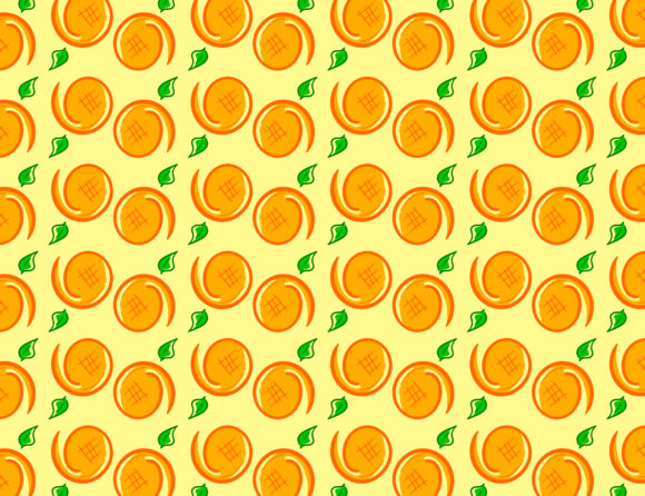Print on Demand: Fresh Oranges Background Graphic Backgrounds By meisuseno