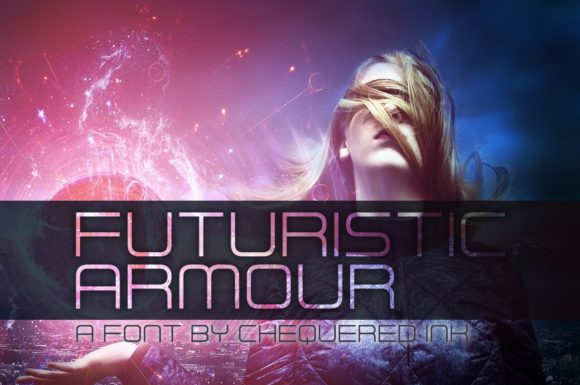 Futuristic Armour Display Font By Chequered Ink