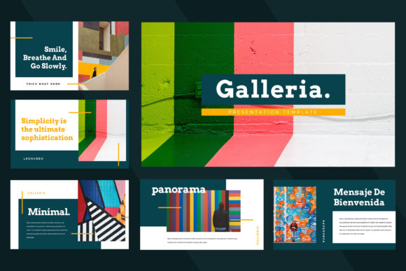 Galleria Colorful Powerpoint Presentation Graphic Presentation Templates By TMint - Image 2