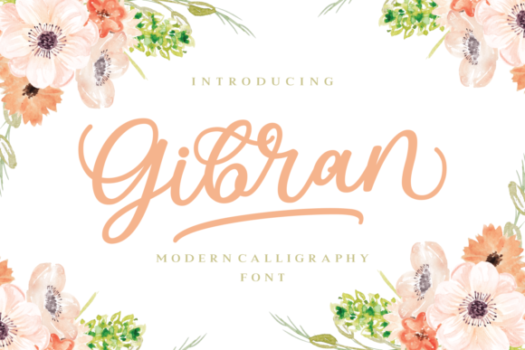 Print on Demand: Gibran Script & Handwritten Font By Keithzo (7NTypes)