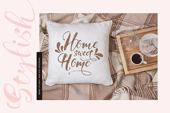 Print on Demand: Girly Things Family Script & Handwritten Font By fontsgood - Image 5