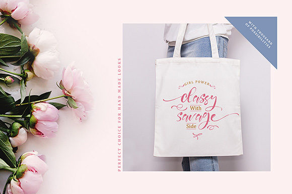Print on Demand: Girly Things Family Script & Handwritten Font By fontsgood - Image 6
