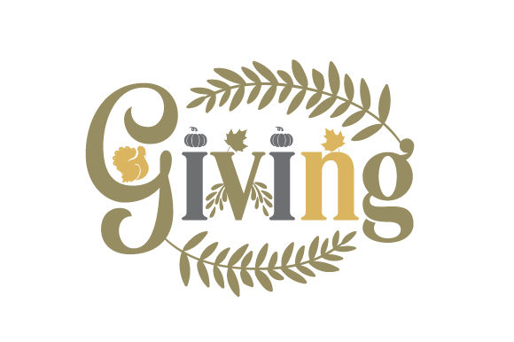 Giving Thanksgiving Craft Cut File By Creative Fabrica Crafts