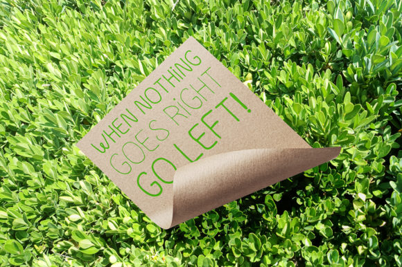 Print on Demand: Go Green Display Font By ilonitta.r - Image 4