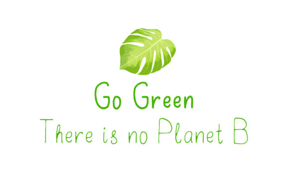 Print on Demand: Go Green Display Font By ilonitta.r - Image 6