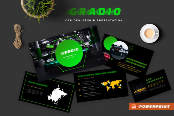 Gradio Car Dealership Powerpoint Presentation Graphic By TMint
