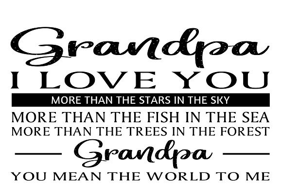Download Free Grandpa Graphic By Family Creations Creative Fabrica for Cricut Explore, Silhouette and other cutting machines.