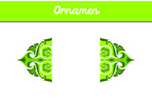 Green Ornament Graphic By Arief Sapta Adjie