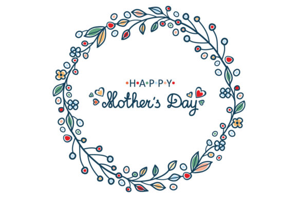 Download Free Greeting Cards For Mother S Day In Different Languages Graphic SVG Cut Files