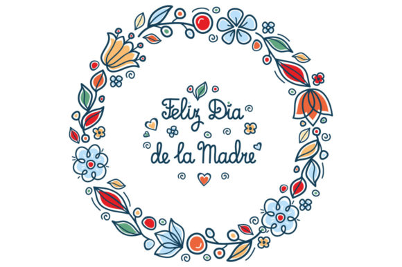 Greeting Cards For Mother S Day In Different Languages Graphic