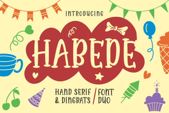 Print on Demand: Habede Uncategorized Font By Rifki (7ntypes)