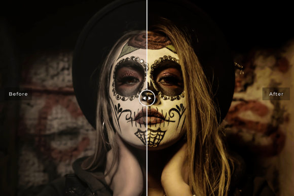 Download Free Halloween Lightroom Presets Pack Graphic By Creative Tacos for Cricut Explore, Silhouette and other cutting machines.