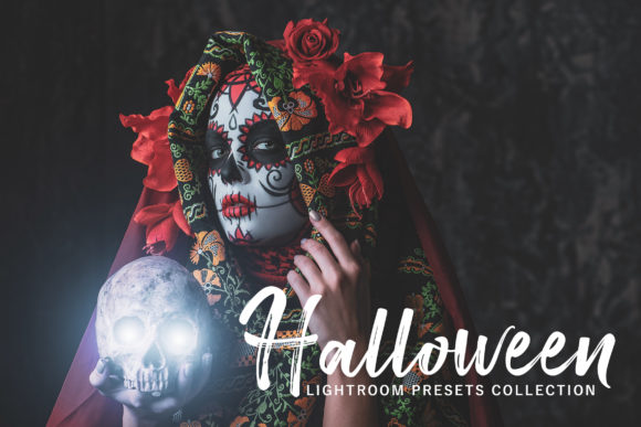 Print on Demand: Halloween Lightroom Presets Pack Graphic Actions & Presets By Creative Tacos