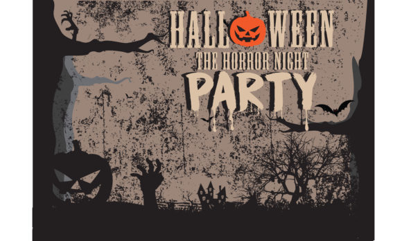 Download Free Halloween Party Invitation Card Enter If You Dare Graphic By for Cricut Explore, Silhouette and other cutting machines.