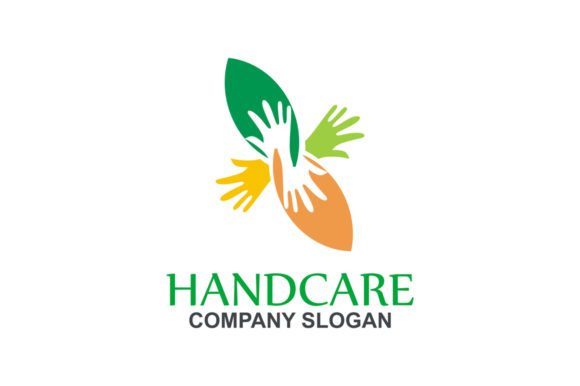 Download Free Handcare Logo Graphic By Friendesigns Creative Fabrica for Cricut Explore, Silhouette and other cutting machines.