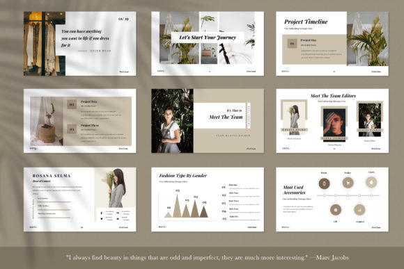 Hanna Powerpoint Presentation Graphic Presentation Templates By TMint - Image 4