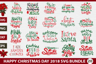Happy Christmas Day SVG Bundle Graphic By Design Palace