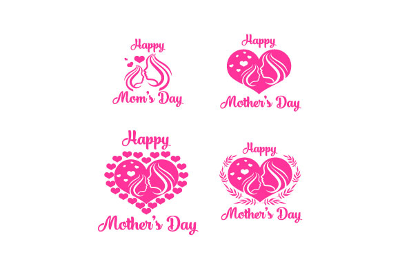 Download Free Happy Mothers Day Icon Grafico Por Hartgraphic Creative Fabrica for Cricut Explore, Silhouette and other cutting machines.