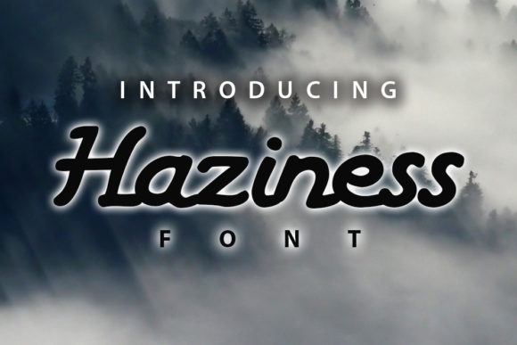 Print on Demand: Haziness Script & Handwritten Font By vladimirnikolic