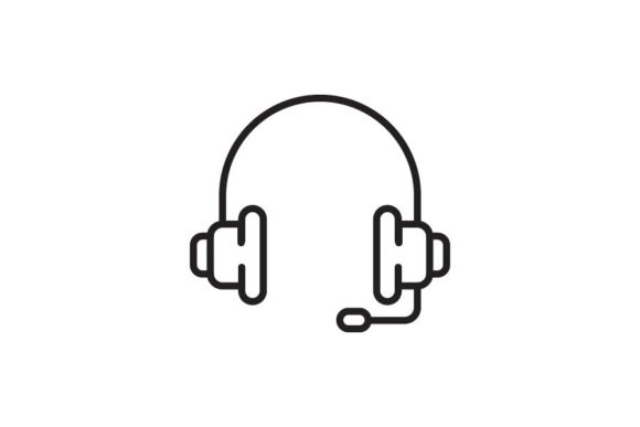 Download Free Headset Graphic By Re Stock Creative Fabrica for Cricut Explore, Silhouette and other cutting machines.