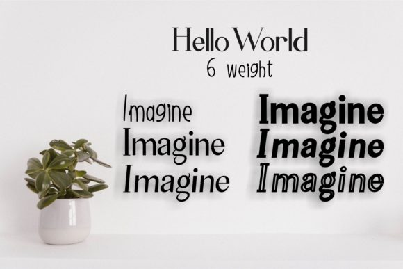 Print on Demand: Hello World Family Sans Serif Font By Muhammad Ersya - Image 2