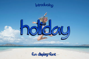 Holiday Font By Typeting Studio