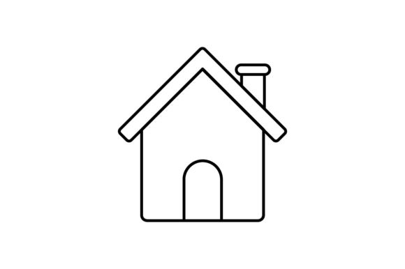 Print on Demand: Home Graphic Icons By khld939