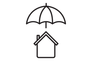 Download Free Home Insurance Graphic By Re Stock Creative Fabrica for Cricut Explore, Silhouette and other cutting machines.