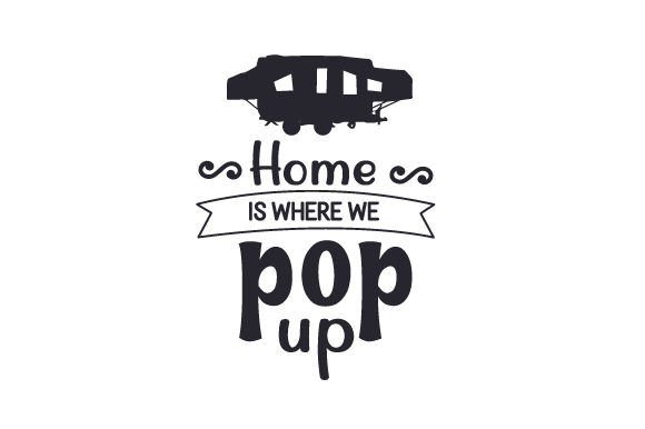 Download Free Home Is Where We Pop Up Svg Cut File By Creative Fabrica Crafts for Cricut Explore, Silhouette and other cutting machines.