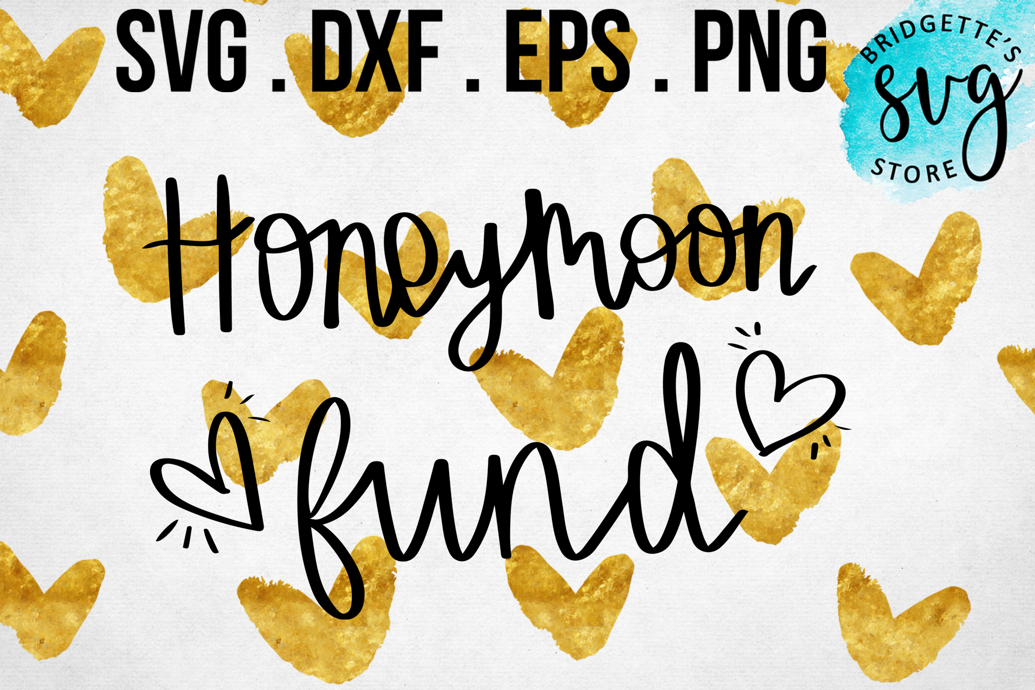 Download Free Honeymoon Fund Graphic By Luxmauve Creative Fabrica for Cricut Explore, Silhouette and other cutting machines.