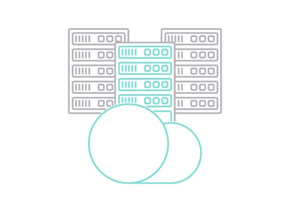 Print on Demand: Hosting Equipment Graphic Icons By Iconika