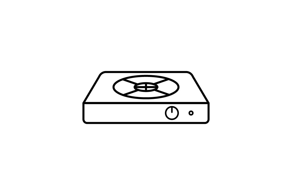 Download Free Hot Plate Graphic By Khld939 Creative Fabrica for Cricut Explore, Silhouette and other cutting machines.