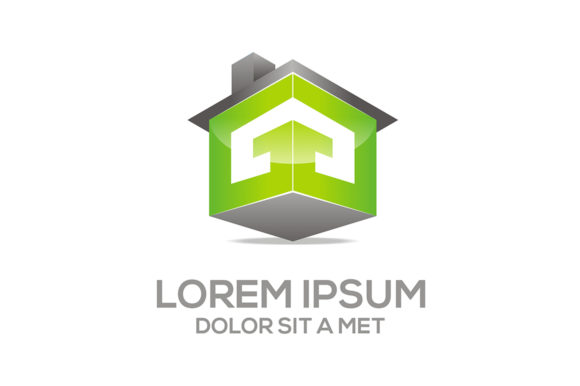 House Building Logo Graphic Logos By Acongraphic