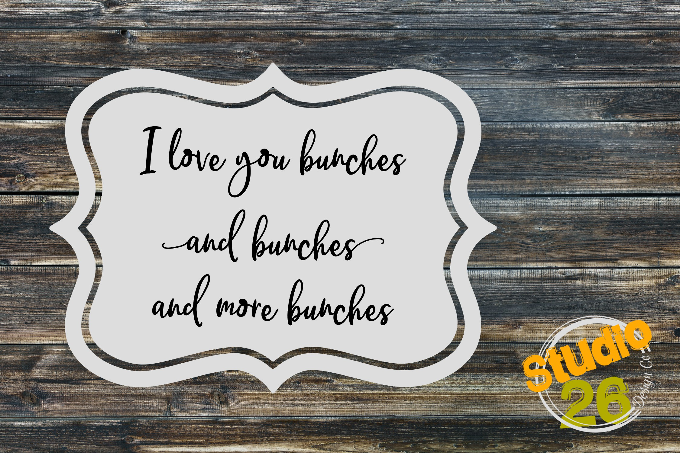 Download Free I Love You Bunches Bunches And More Bunches Svg Graphic By for Cricut Explore, Silhouette and other cutting machines.