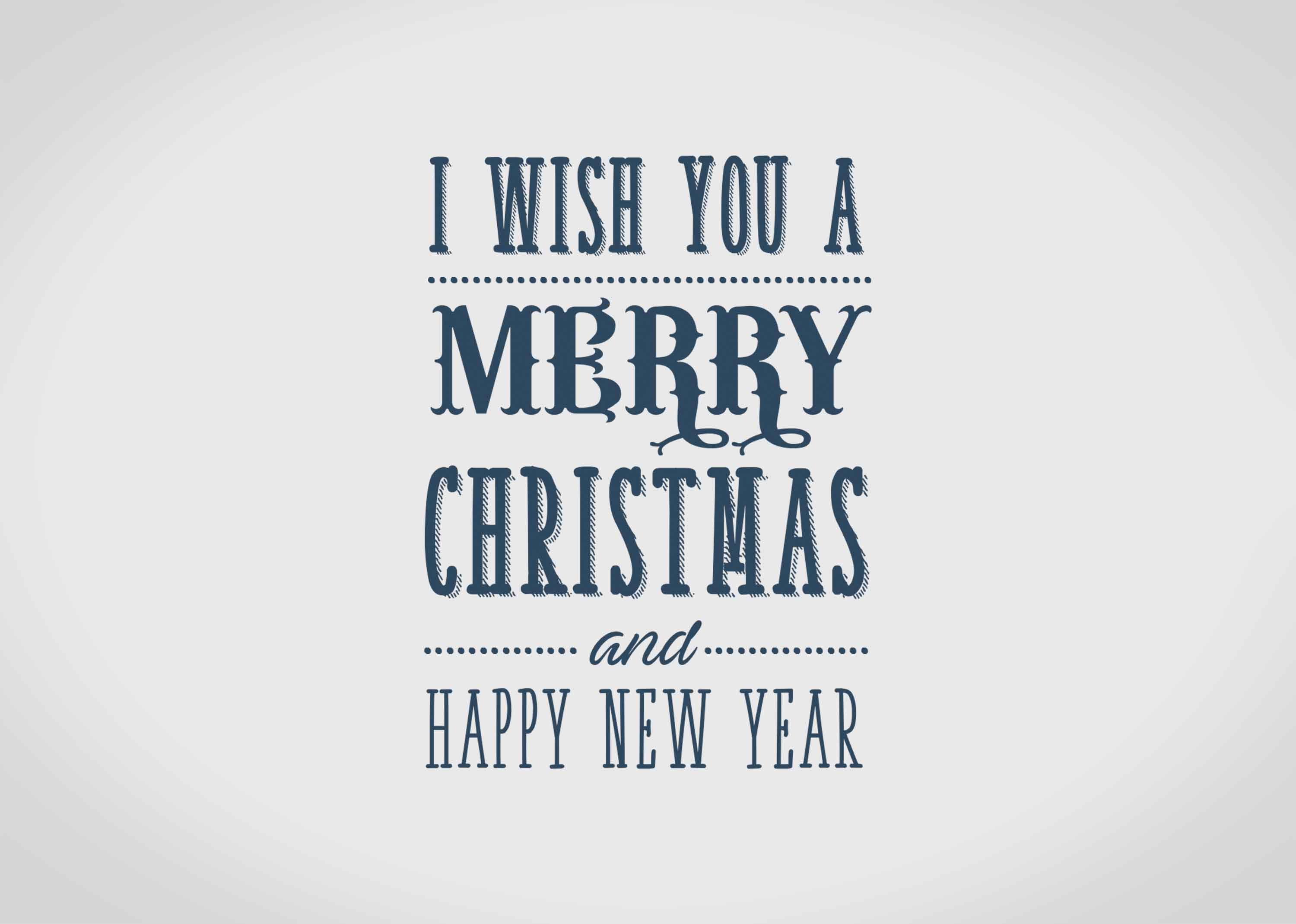 I wish you merry christmas and happy new year quote Graphic by MG ...
