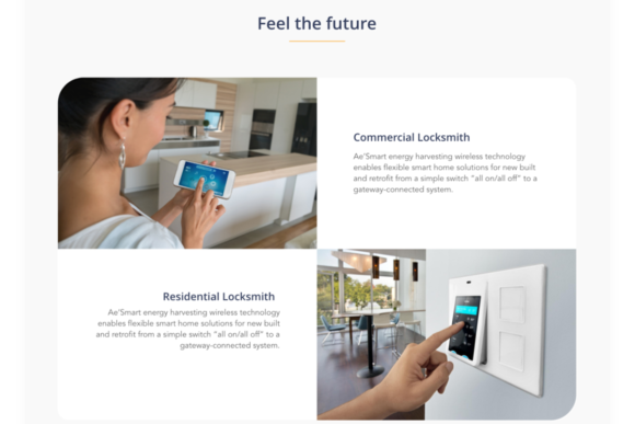IOT Smart Home Landing Page UI Kit Graphic By Creative Fabrica Freebies Image 5