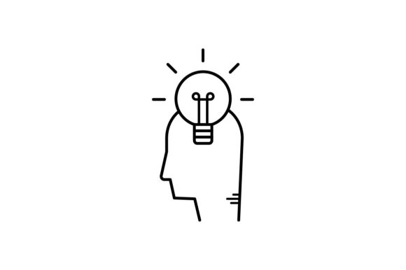 Print on Demand: Idea Graphic Icons By khld939