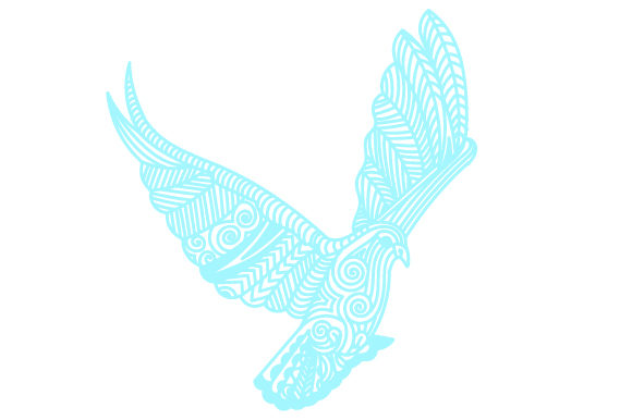 Download Free Intricate White Dove Flying Svg Cut File By Creative Fabrica for Cricut Explore, Silhouette and other cutting machines.