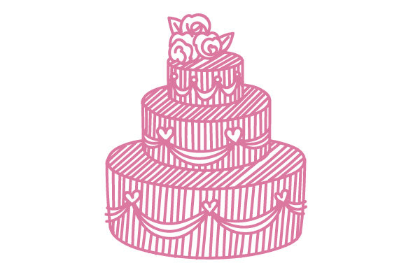 Download Free Intricate Cut Wedding Cake Svg Cut File By Creative Fabrica Crafts Creative Fabrica for Cricut Explore, Silhouette and other cutting machines.