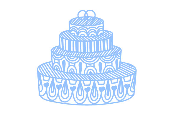 Intricate Cut Wedding Cake Intricate cuts Craft Cut File By Creative Fabrica Crafts