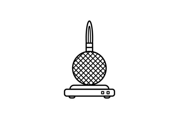 Print on Demand: Iron Waffel Graphic Icons By khld939