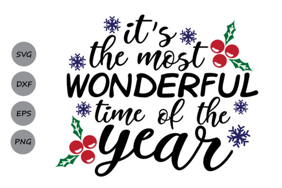 Download Free It S The Most Wonderful Time Of The Year Svg Graphic By SVG Cut Files
