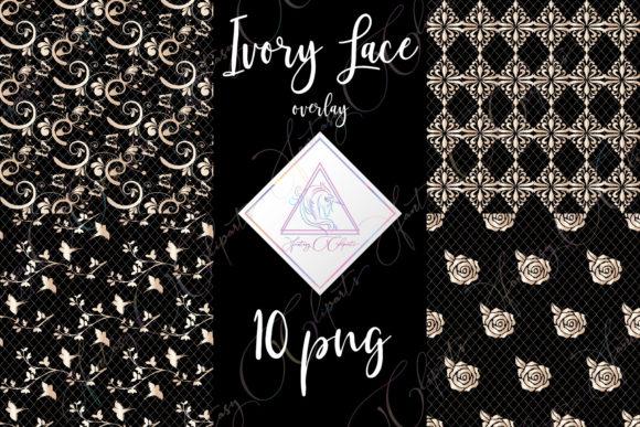 Print on Demand: Ivory Lace Clipart Graphic Illustrations By fantasycliparts